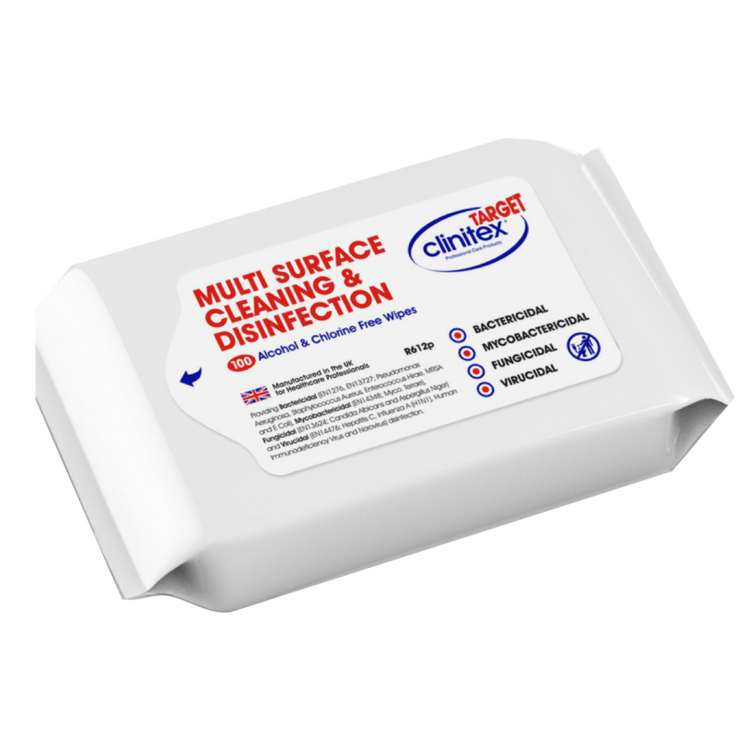 image of a packet of target multi surface disinfection wipes